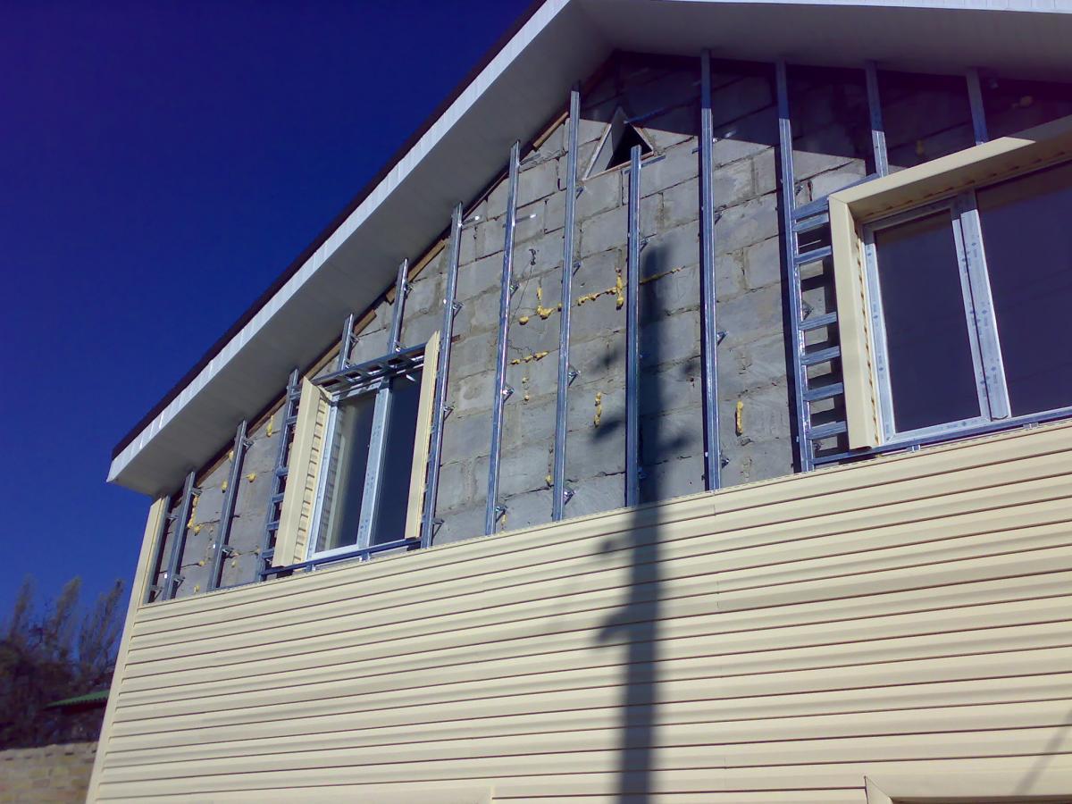Облицовка фасада дома своими руками