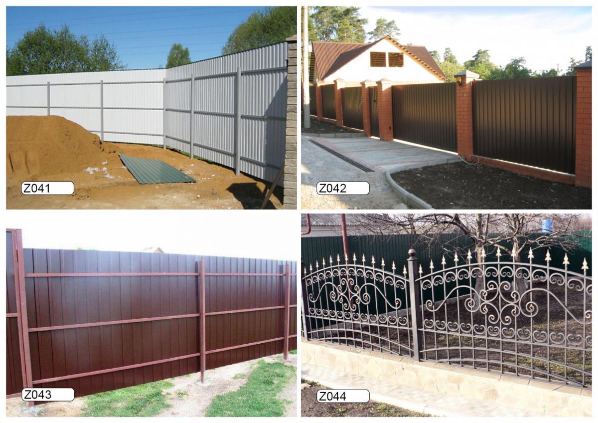 Забор за один день