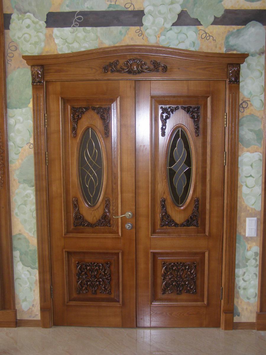 Заказать межкомнатные двери из массива ясеня в Минске