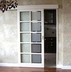Одинарная раздвижная дверь