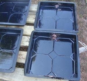 Формы для тротуарной плитки из силикона своими руками